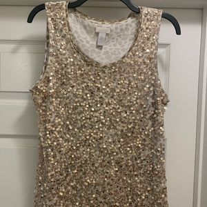 Chico's sequin top🌟